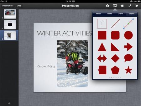Keynote winter ride