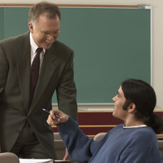 Engaging Students: Friendly but Not Their Friend