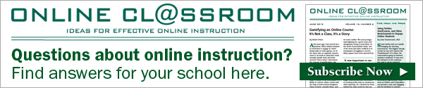 Online Classroom newsletter