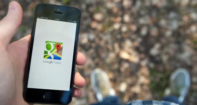 Google Maps on iPhone