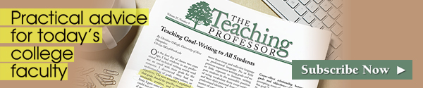 Teaching Professor newsletter
