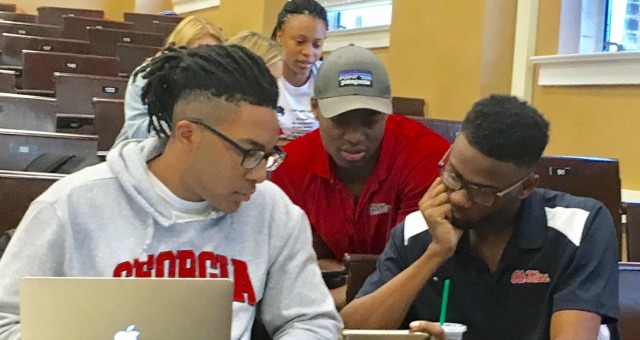 University of Mississippi students