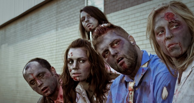 zombies in the classroom