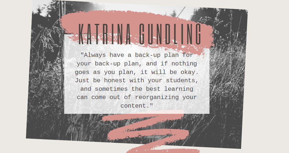 The Focus is You: Katrina Gundling and a Mud Hut