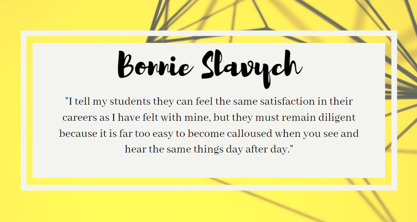 The Focus is You: Bonnie Slavych