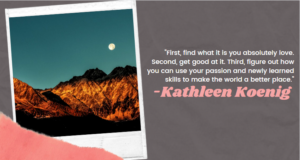 focus is you: kathleen koenig