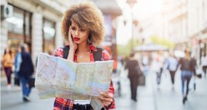 Student lost and confused traveling abroad