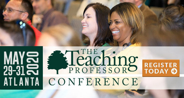 The Teaching Professor Conference 2020