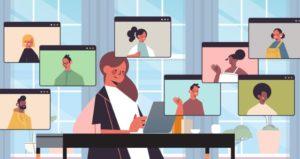 Breakout groups in online classes