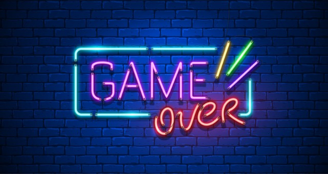 """Game Over"" indicates online game playing in synchronous classes"