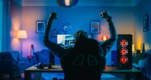 Streamer celebrates success of winning video game