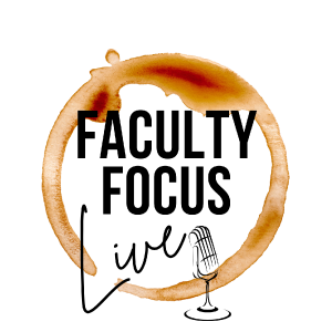 Faculty Focus Live podcast logo
