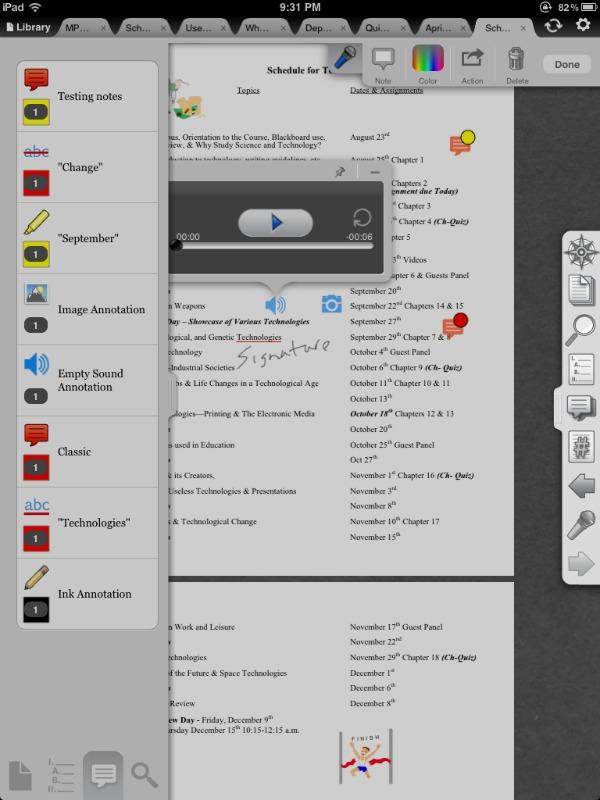 iAnnotate screenshot